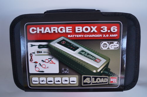 4Load Charge Box 3.6 12V – 3,6A  Autobatterie Lade- Ladeerhaltungsgerät